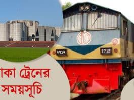 Dhaka-train-schedule
