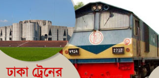 Dhaka-train-schedule
