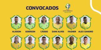 copa america brazil squad