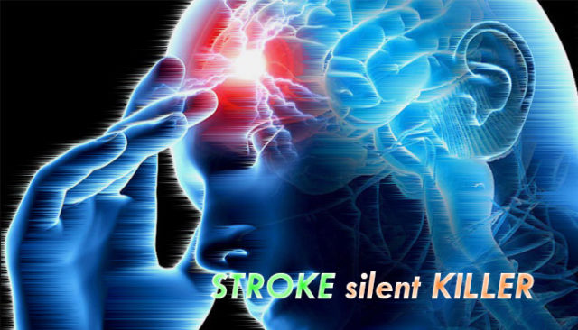 stroke silent in bathroom