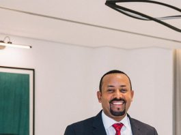 Abiy Ahmed 2019 Nobel Peace Prize Laureate