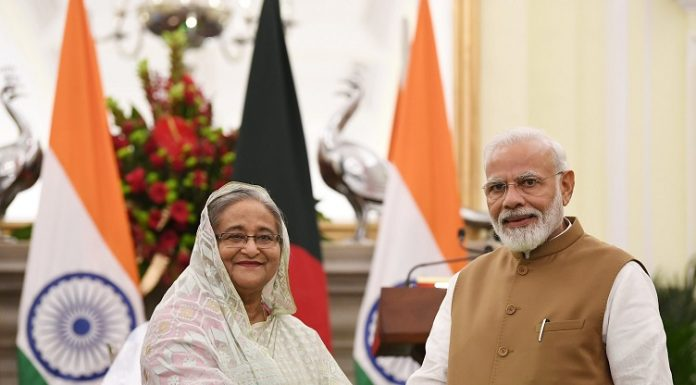 Sheikh Hasina & Norendra Modi