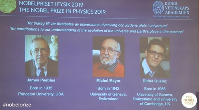 the Nobel Prize in Physics 2019