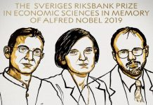three receive Economics Nobel 2019