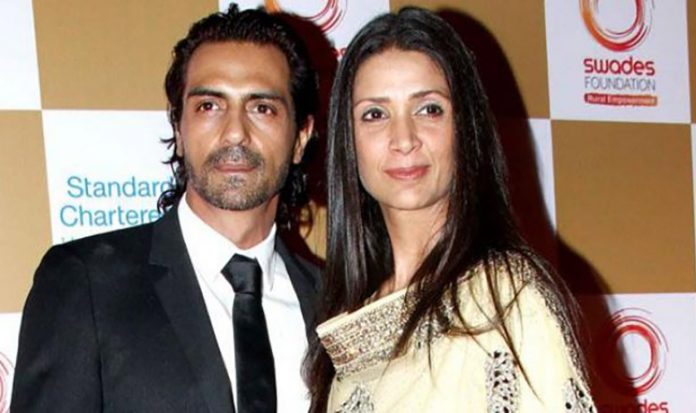 arjun-rampal-with-wife-mehr