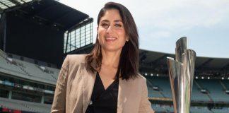 Kareena Kapoor Unveils 2020 ICC T20 World Cup Trophies