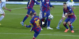 Messi's hat-trick