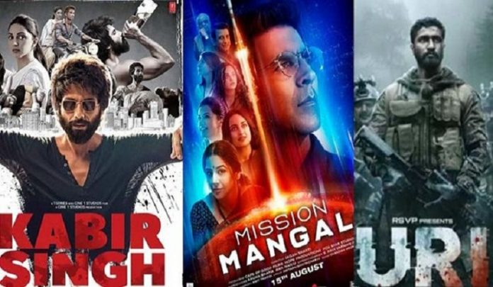 top 10 hindi movie 2019