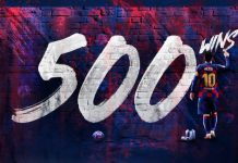 messi 500 match wins