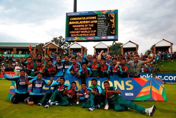 bangladesh won u-19 world cup