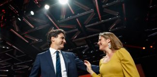 Justin Trudeau and Sophie