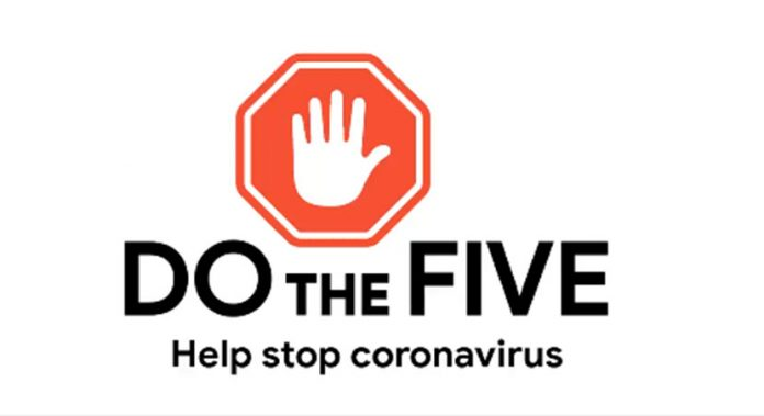 how to prevent the spread of coronavirus, with five key
