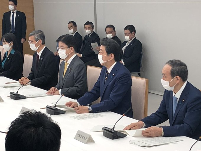 Japan PM Abe declares state of emergency over virus
