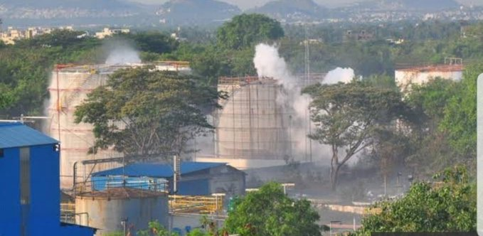 india chemical plant