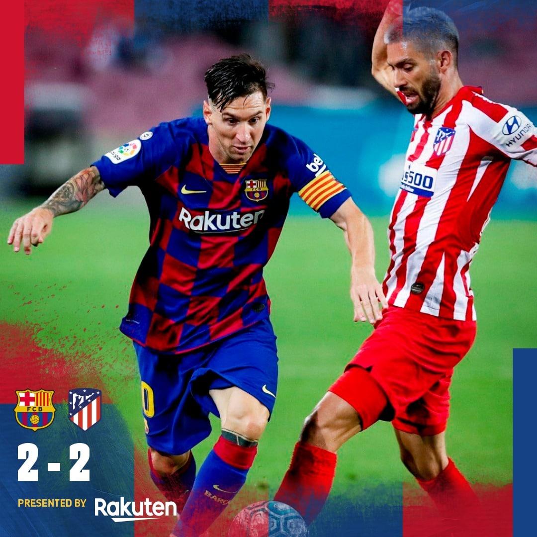 barcelona vs atlico madrid