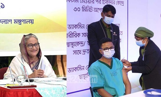 shiekh-hasina-first-corona-vaccine-bangladesh